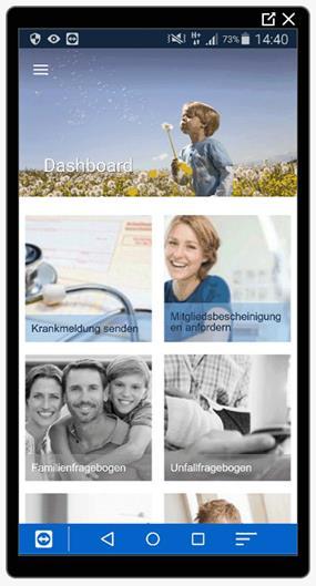 Continentale Betriebskrankenkasse (BKK) Service App
